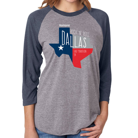 Dallas Baseball Tee