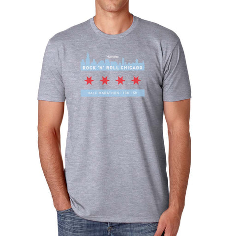Chicago Flag TEE