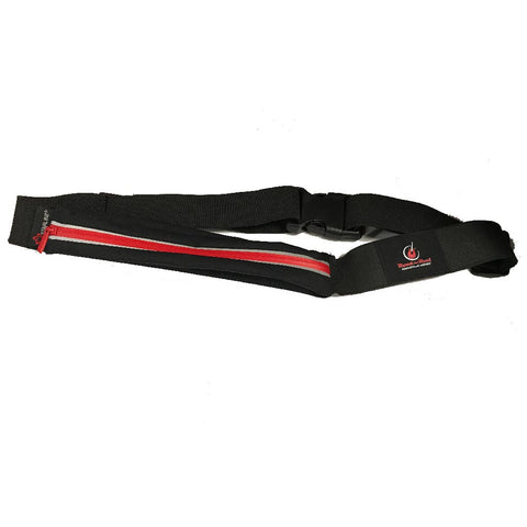 RNR Black and Red Pouch Belt