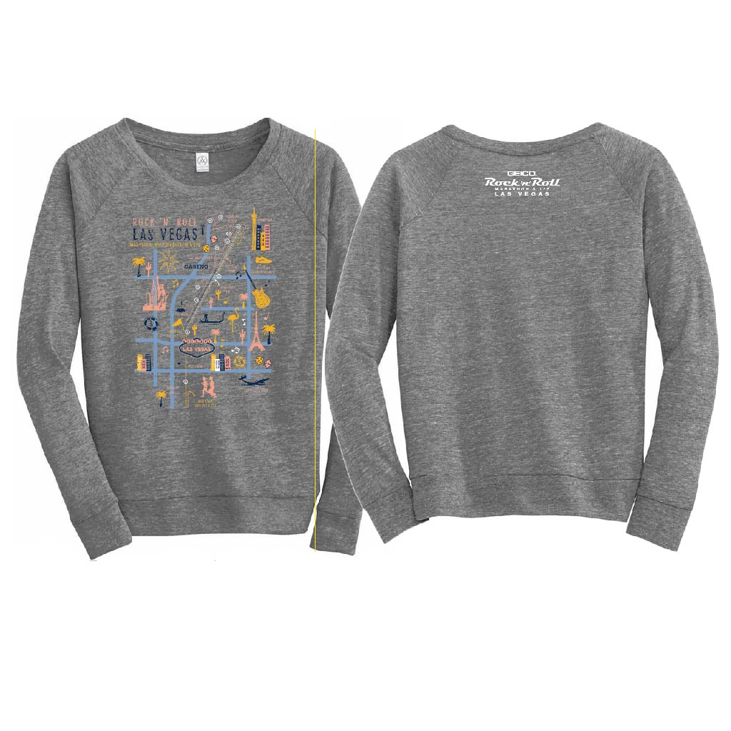 LV Wom Collage Gray LS