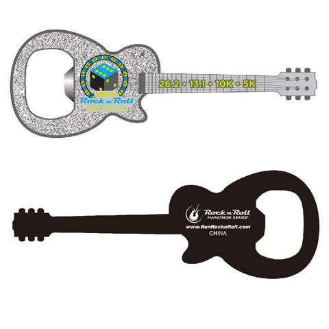 Virginia Beach Guitar Bottle Opener