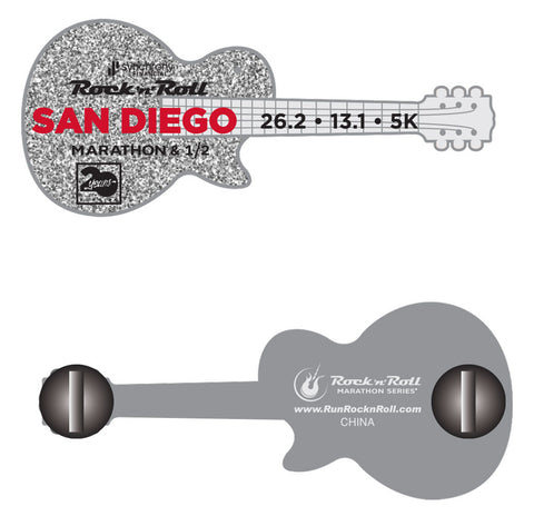 San Diego Guitar Pin
