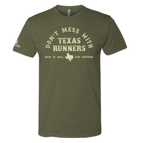 San Antonio Texas Runner Tee