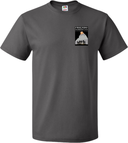 Friends of Mammoth Cave - Charcoal - Short Sleeve T-shirt