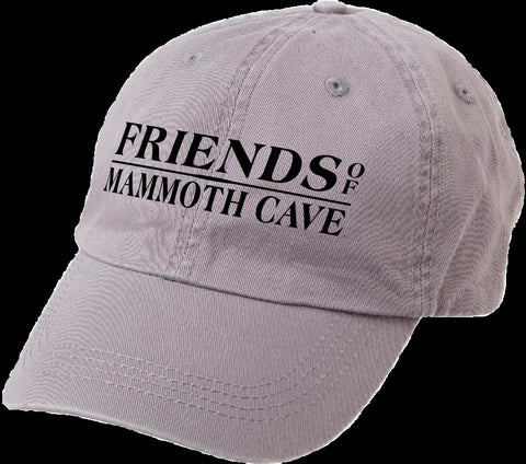 Friends of Mammoth Cave - Classic Dad's Cap - Gray