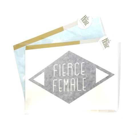 Activist Wear - Fierce Female Sticker/Decal