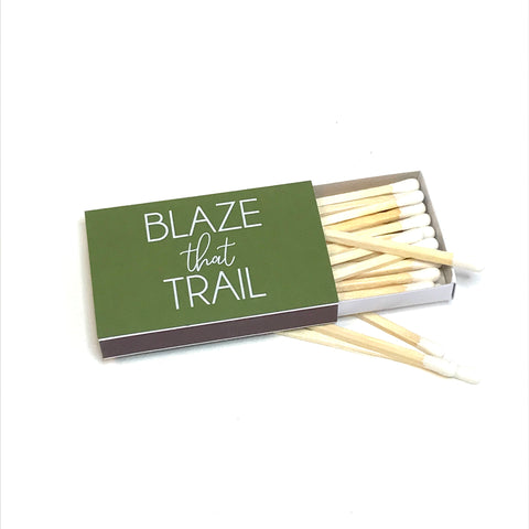 House Wares - blaze that trail match box
