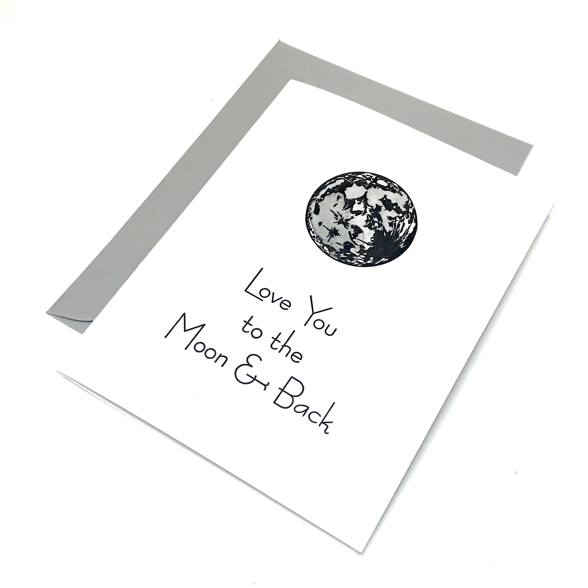 planet cards - love you to the moon and back