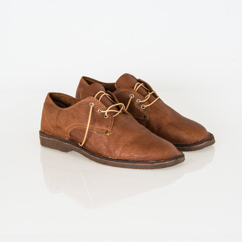 Cognac Kudu Leather Vellies - Bos Vellies Co. Collection