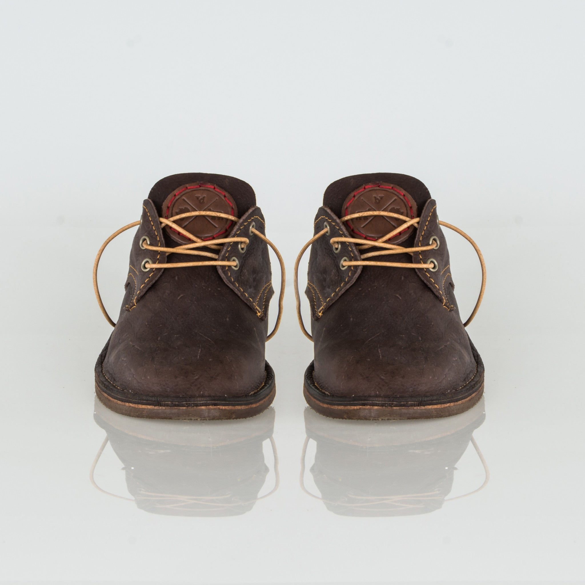 Dark Brown Kudu Leather Vellies - Bos Vellies Co. Collection - Uhuru Afrique