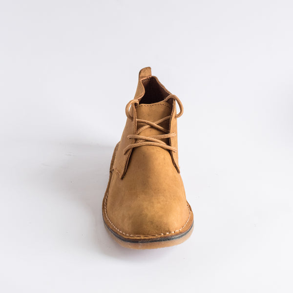 Tan Leather Vellies - Freedom Vellies Collection - Uhuru Afrique