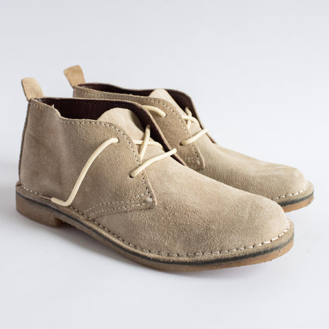 Stone Suede Vellies - Freedom Vellies Collection