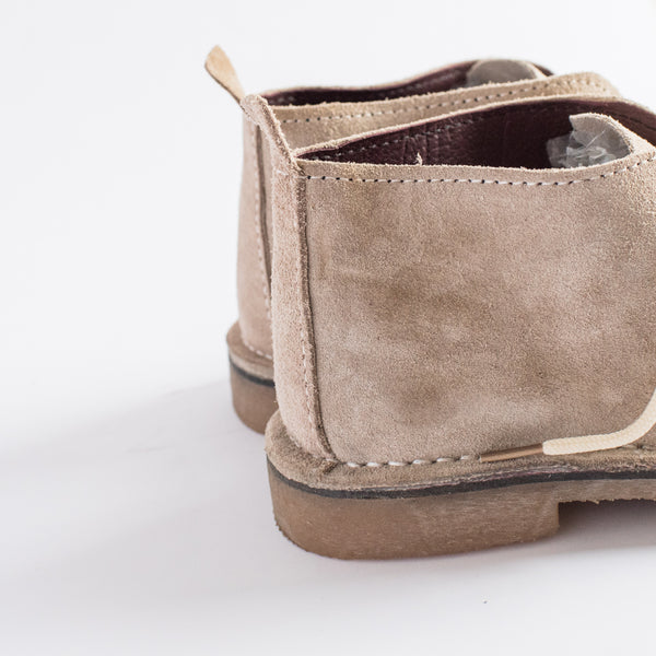 Stone Suede Vellies - Freedom Vellies Collection - Uhuru Afrique