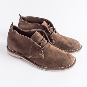Dark Brown Suede Vellies - Freedom Vellies Collection - Uhuru Afrique