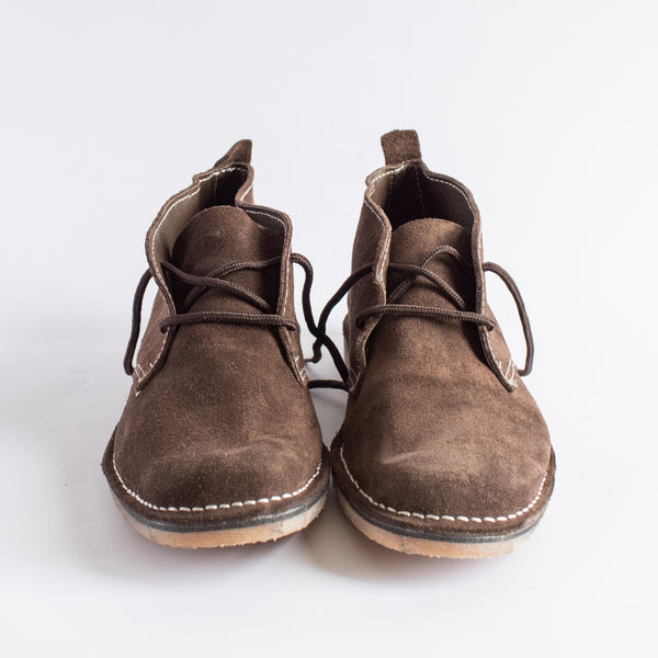 Dark Brown Suede Vellies - Freedom Vellies Collection