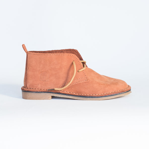 Peach Leather Vellies - Freedom Vellies Collection - Uhuru Afrique