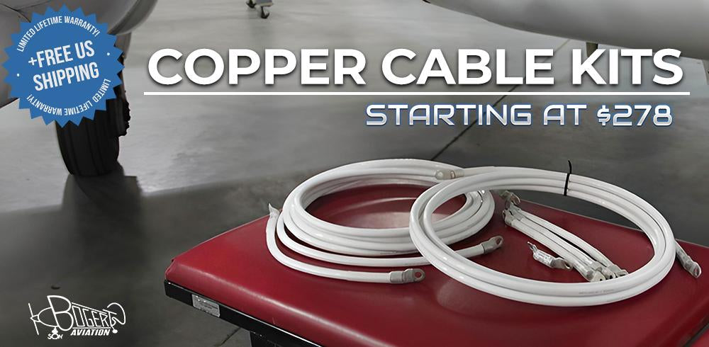 Low Loss Aircraft Cable Kit