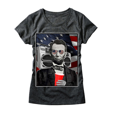 Womens Abroham Lincoln T-Shirt