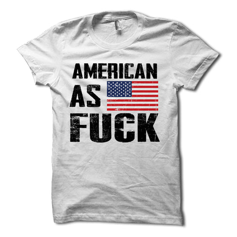 American As Fuck American Flag Shirt