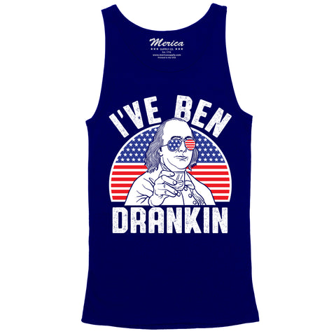 Ive Ben Drankin Tank Top