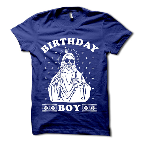 Birthday Boy Christmas Shirt