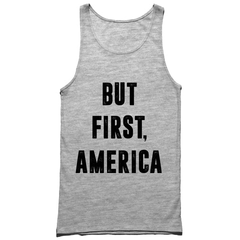 But First America Tank Top