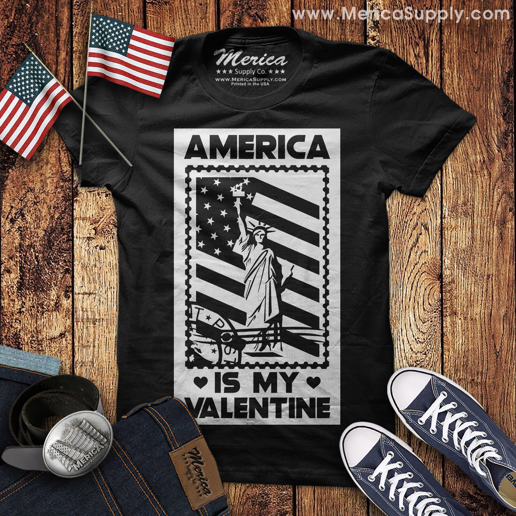 America is my Valentine T-Shirt