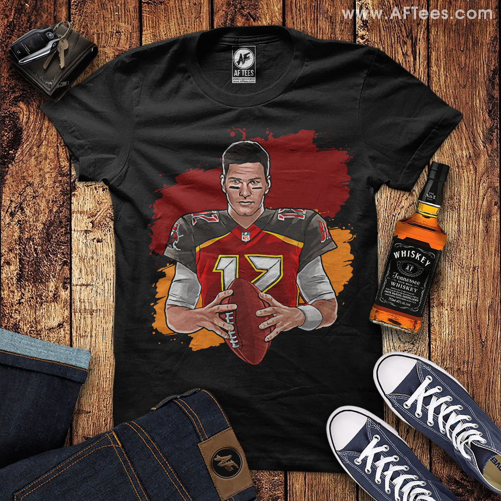 Tom Brady Tampa Bay Buccaneers Quarterback T-Shirt