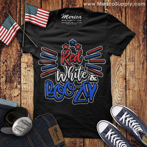 Red White and Boozey T-Shirt