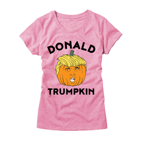 Womens Donald Trumpkin T-Shirt