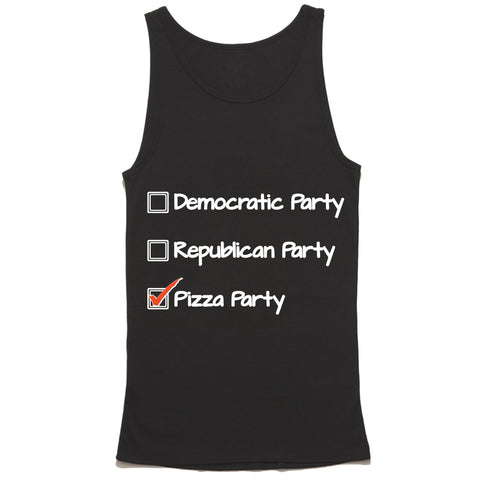 Presidential Pizza Party Tank Top