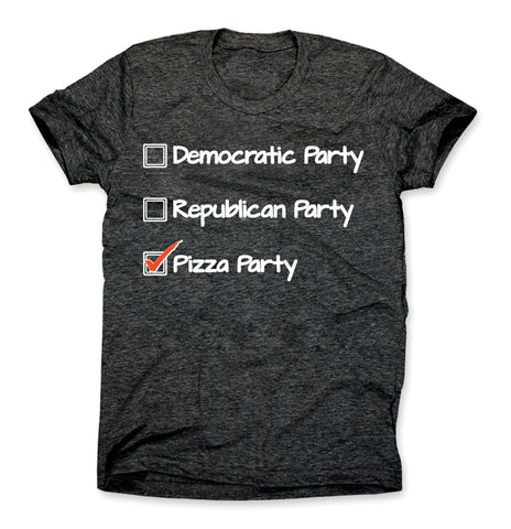 Presidential Pizza Party Shirt