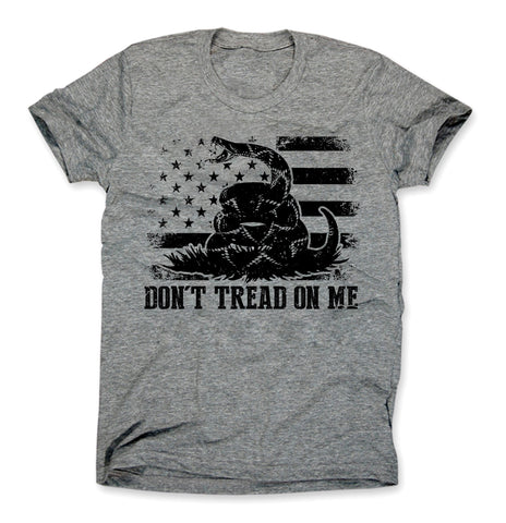 Don't Tread On Me Shirt Heather Gray