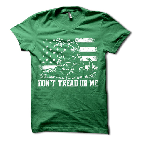 Don't Tread On Me Shirt Green
