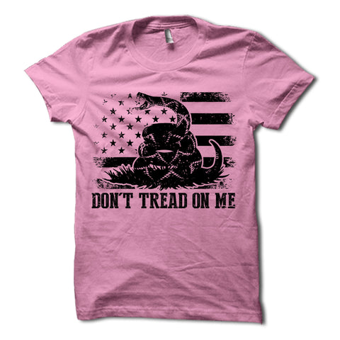 Don't Tread On Me Shirt Pink