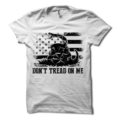 Don't Tread On Me Shirt White