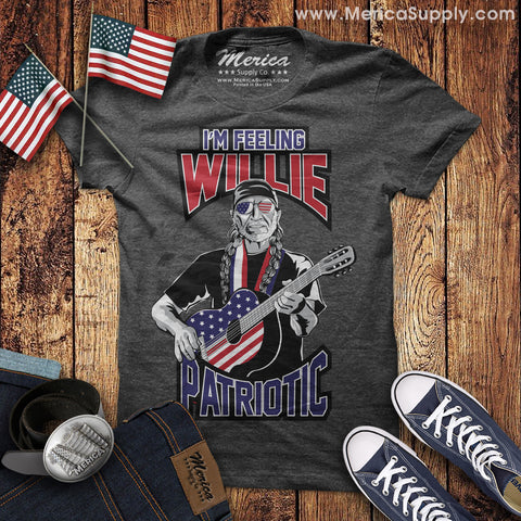Im Feeling Willie Patriotic T-Shirt