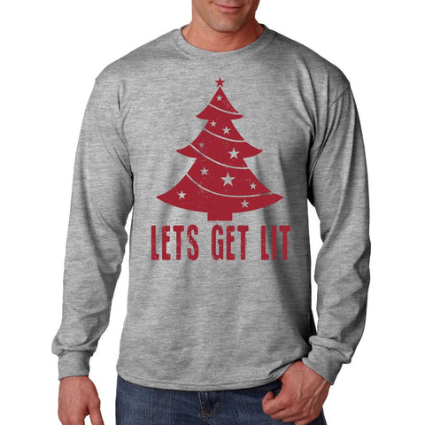 Lets Get Lit Long Sleeve T-Shirt