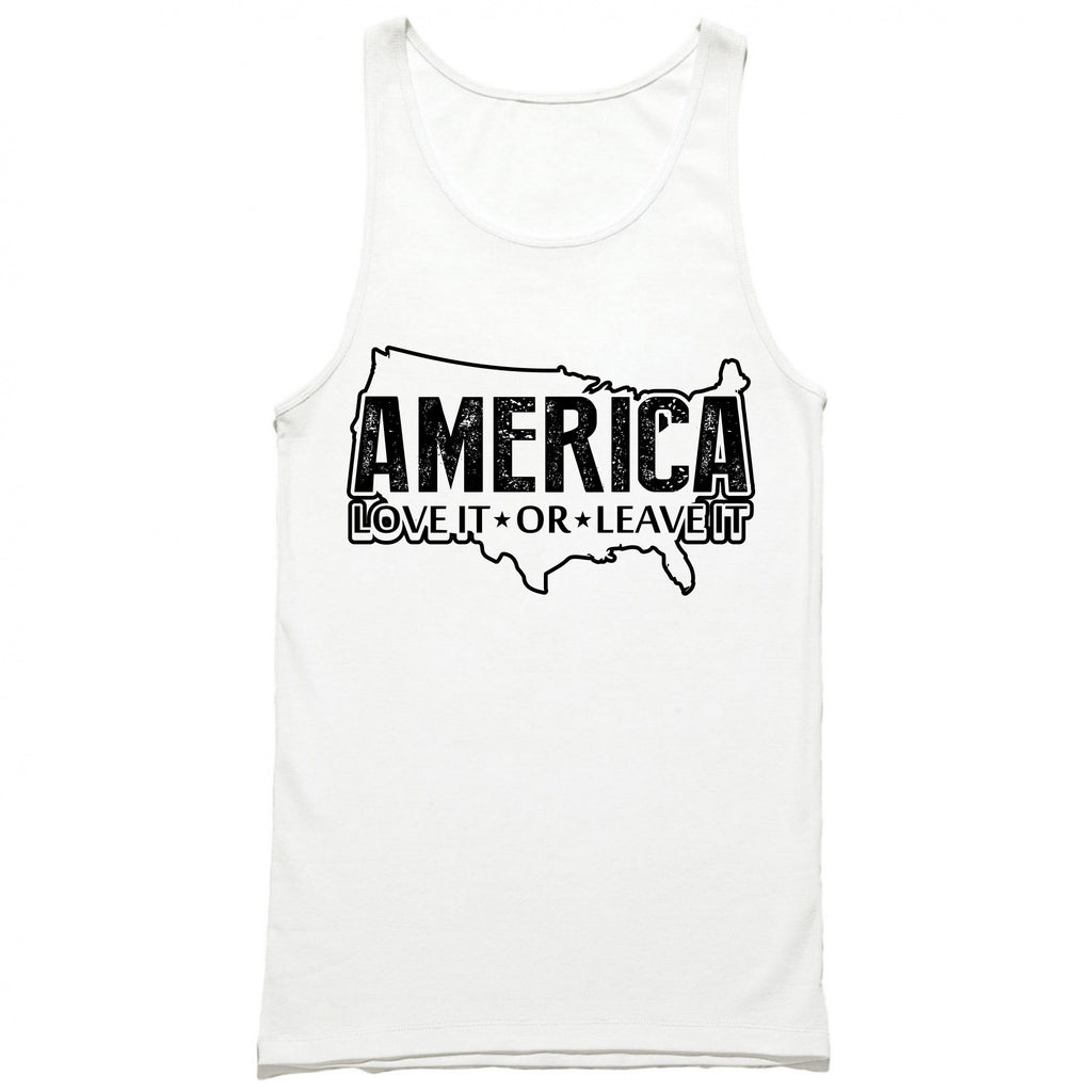 America Love It or Leave It Tank Top