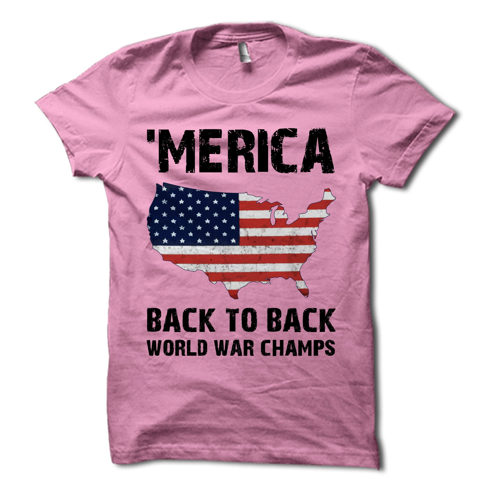 c91fe7f9 MERICA Back to Back World War Champs USA Shirt – Merica Supply Co.