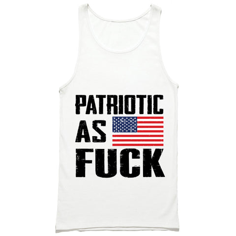 Patriotic As Fuck Tank Top