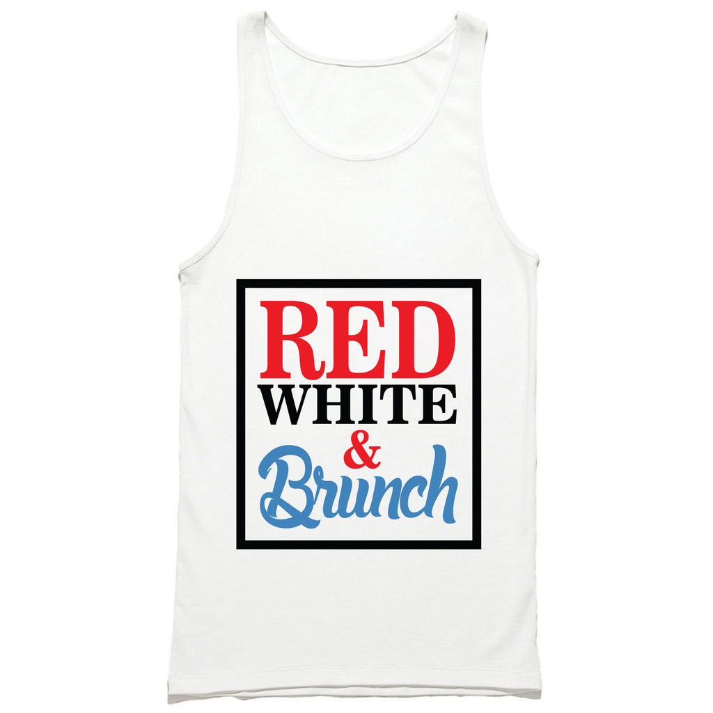 Red White & Brunch Tank Top