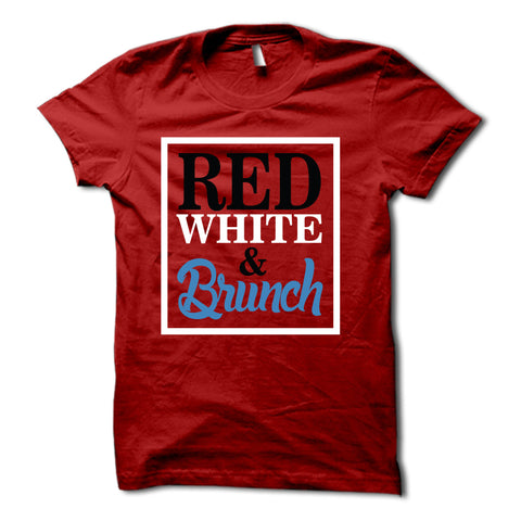 Red White and Brunch Shirt
