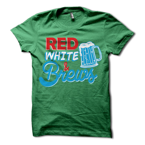 Red White & Brews Shirt