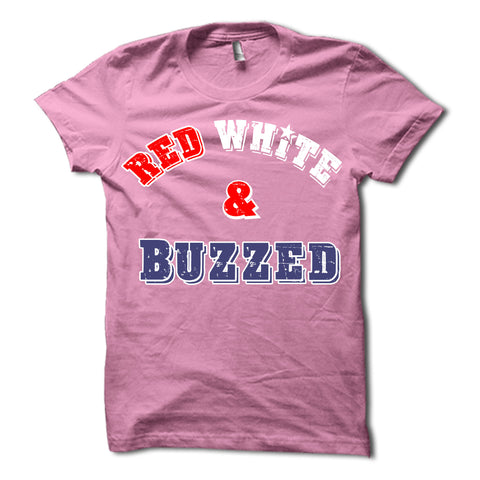 Red White and Buzzed Shirt