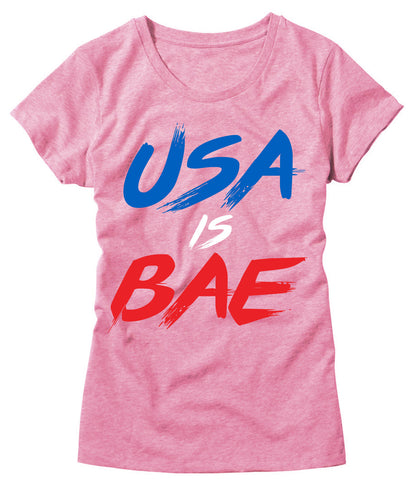 Womens USA is Bae T-Shirt