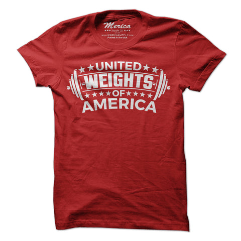 United Weights of America Shirt