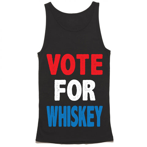 Vote For Whiskey Tank Top