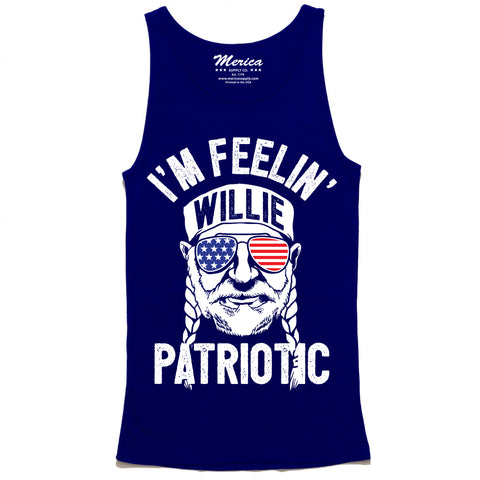 Im Feelin Willie Patriotic Tank Top