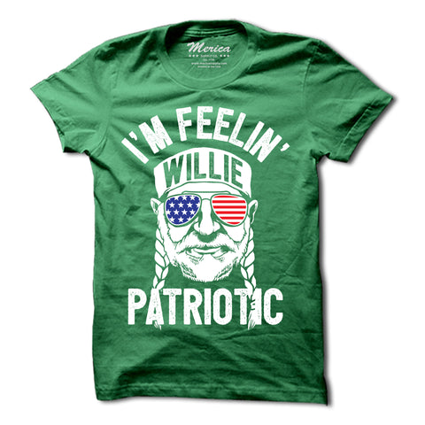 Im Feelin Willie Patriotic Shirt
